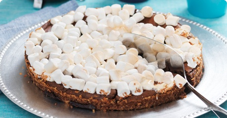 Marshmallow mud cake, via arla.se