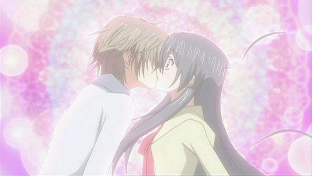 special a kei+hikari awwww they kiss, they finally kisssss!