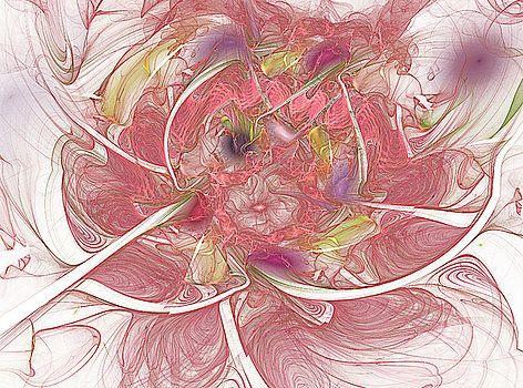 Pink flower by Mary Raven #MaryRaven  #flower #pink #ArtForHome #FainArtPrints