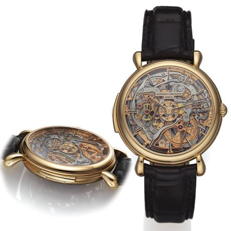 Vacheron Constantin Ref. 30030, Les Cabinotiers Skeleton Minute Repeater Limited Edition in Pink Gold.