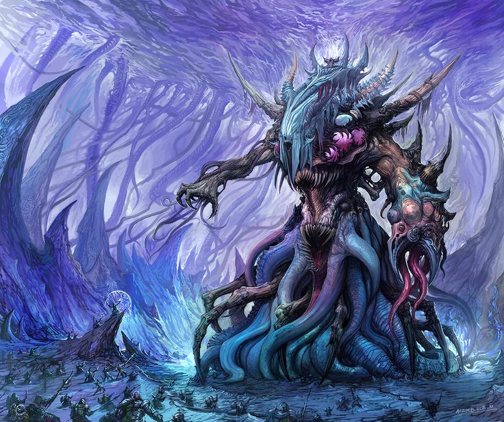 Death Colossus by Alex Boca