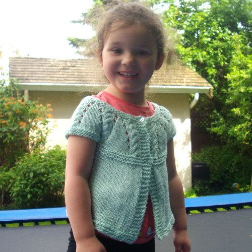 Saoirse Baby and Toddler Cardigan PDF knitting by PurplePup