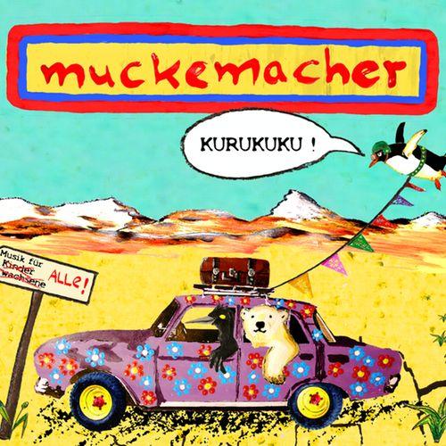 """Eine Platte voller Kracher!  Unverkennbar wird auf unserem 2. Album """"Kurukuku"""" wieder alles auf den Kopf gestellt, was ehemalige Hörgewohnheiten im Kinderzimmer so geprägt haben. Ab jetzt groovt es dort mit Cumbia, Rocksteady, Hip Hop Afrobeat, Salsa, Electroswing und Dub.  """"Kurukuku""""heißt unser neues Album, der Ruf des endlich fliegenden Pinguins schwebt dabei in die Ferne, dorthin, wo es uns diesmal musikalisch zieht und daher sind viele der Lieder mit einem Hauch von Sommer, Reise und…"""