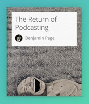 Podcasts are making a comeback. This playlist explores why.  #Podcasts