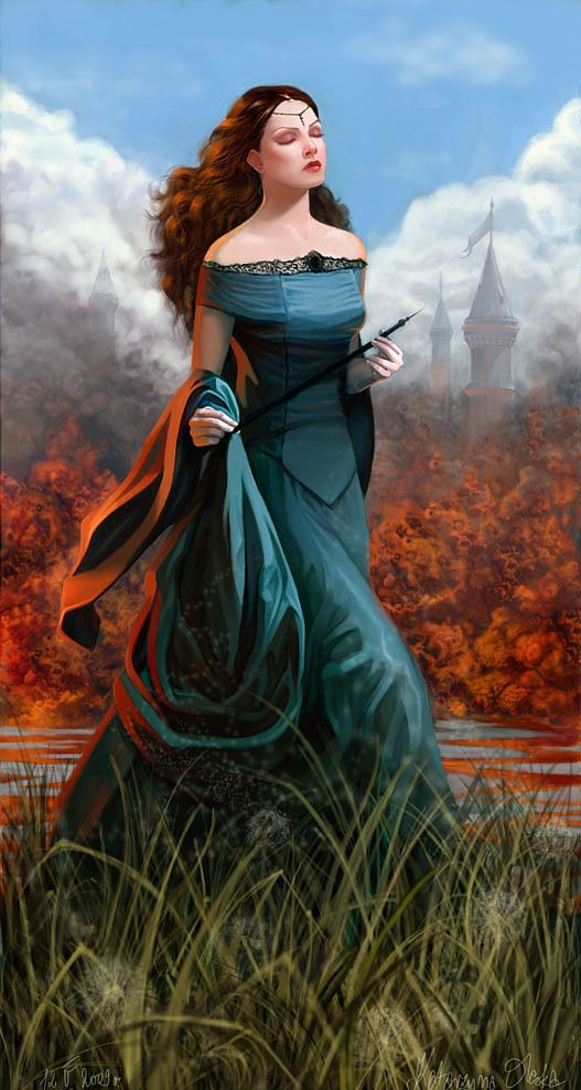 Famille Tully - Vivesaigues 6b4ba5c39c99071b900944efc045c306--fantasy-characters-female-characters