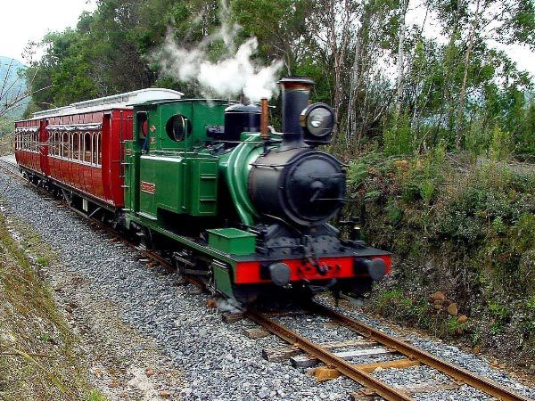 Strahan to Queenstown - West Coast Wilderness Railway. Article by Carol Haberle and photo by Dan Fellow for Think Tasmania.