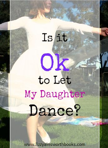 You turn on the praise and worship music and your daughter starts dancing; and you're glad, because she's worshipping Daddy…