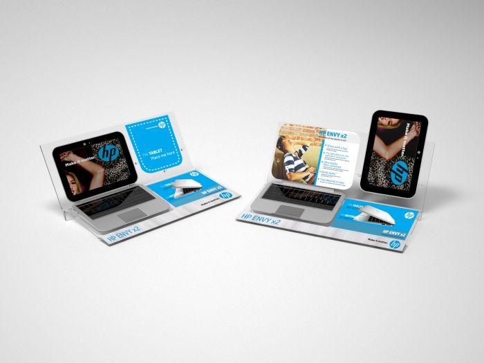 HP | Notebook Display by Iyan Suyanto at Coroflot.com