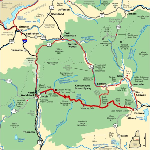 Kancamagus Scenic Byway Amazing Places I Have Been