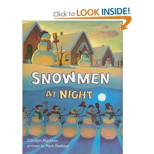 Game to play based on the book Snowmen at Night  One of my favorite books