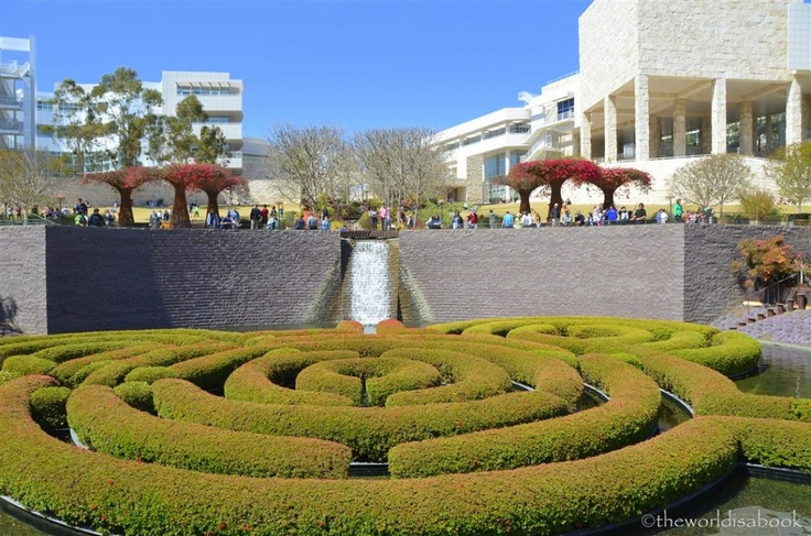 CALIFORNIA: The Getty Center in Los Angeles. Art and architecture can also be fun for the whole family.