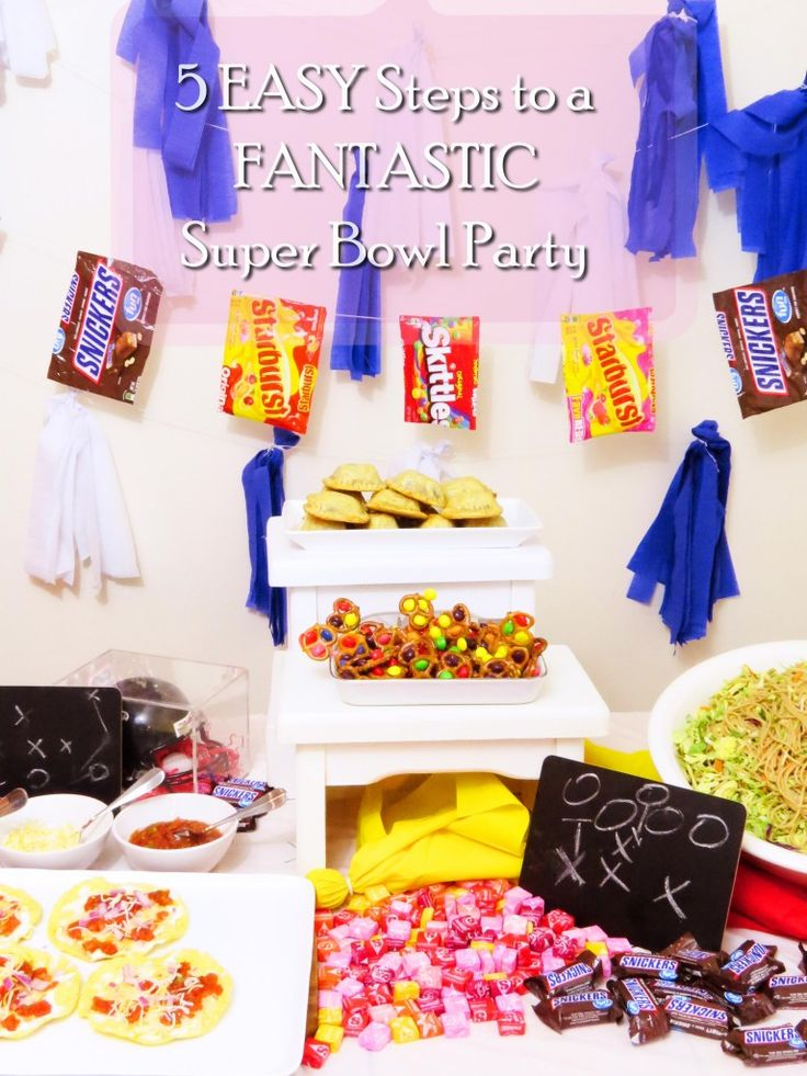 5 EASY Steps to a FANTASTIC Super Bowl Party - Sweet Savant #SweetenTheSpread [AD]
