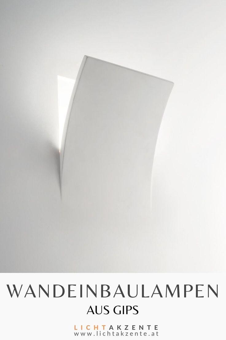 Ideal Lux Gips Wandeinbauleuchte Foglio E14 in 2020 | Lampe