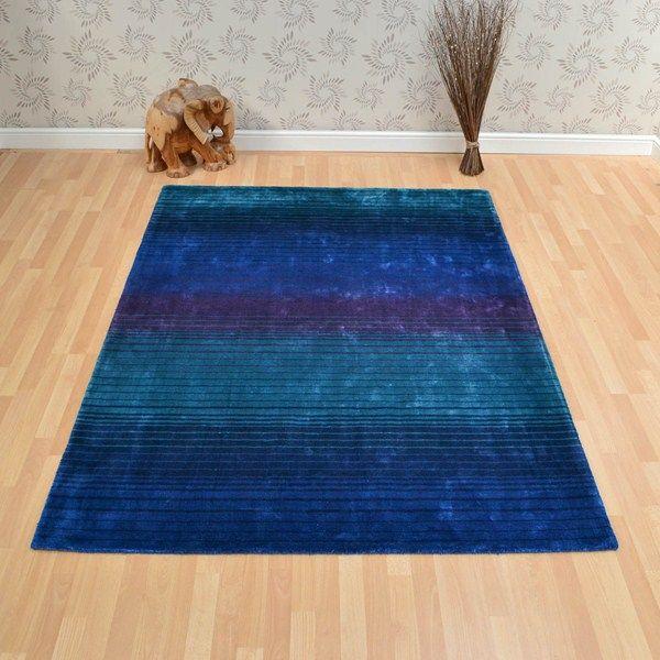 Holborn rugs in indigo buy online from the rug seller uk