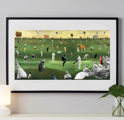 Fine Art Print / Art Poster / Collage / Games  / by BoWoStudio