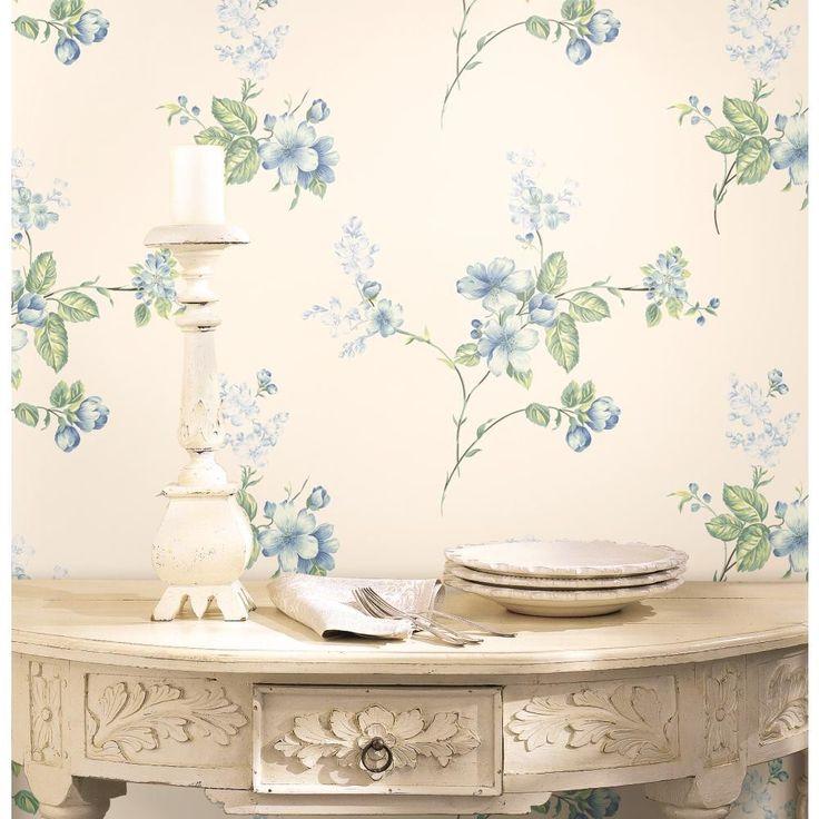 34 Best Bedroom Airy Floral Wallpaper Images On Pinterest