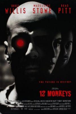 Twelve Monkeys (1995) movie #poster, #tshirt, #mousepad, #movieposters2