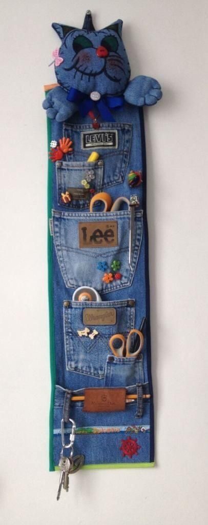 57 cool ideas to recycle your old jeans - #diyUpcycledHandwerk - #jewellery