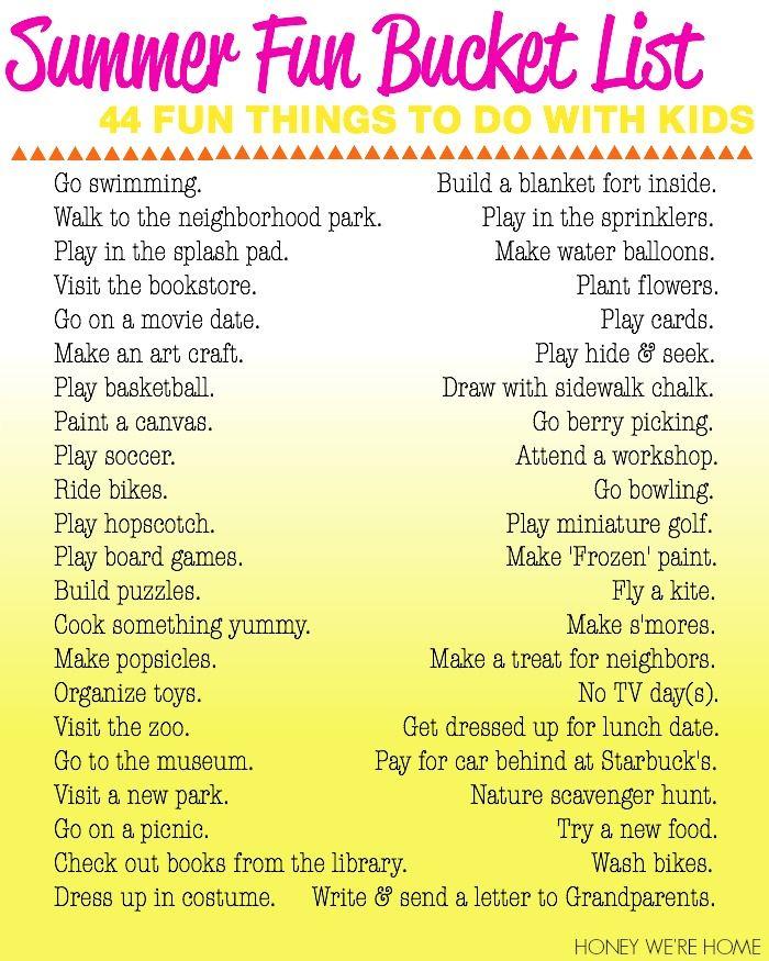 25+ Best Ideas About Fun Bucket On Pinterest