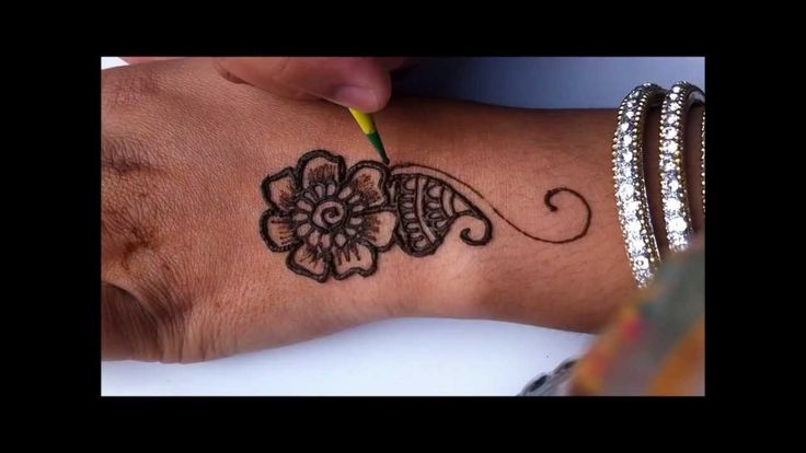 how to do a simple henna design