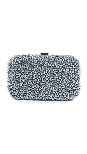 Something Blue: Santi Pearl Box Clutch from Shopbop