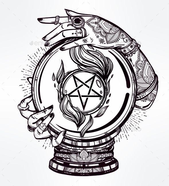 best 25 pentacle tattoo ideas on pinterest pentagram tattoo wiccan tattoos and pentacle. Black Bedroom Furniture Sets. Home Design Ideas