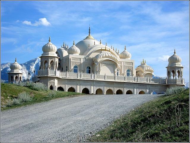 ~ Hari Krishna Temple ~ Salem, Utah...The Architecture is beautiful....