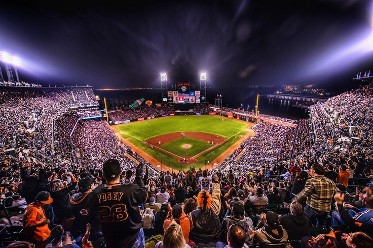 Awesome shot of the park!San Francisco California, Trey Ratcliff, San Francisco Giants, Giants Basebal, Sfgiants, The Games, Basebal Seasons, Baseball Season, Sf Giants