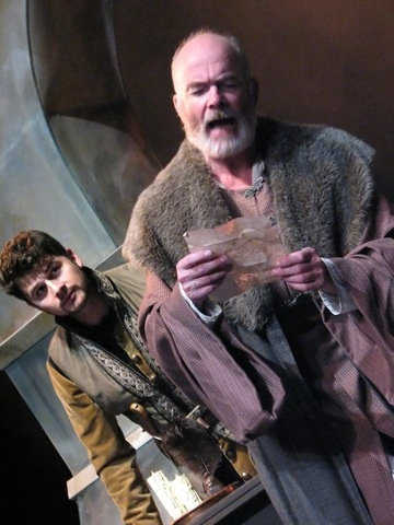 King Lear (Hart House Theatre) Photo of Benjamin Blais and Thomas Gough by Daniel DiMarco