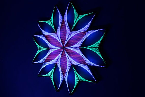 Herkunft-Sx String Kunst Heilige Geometrie von KevEtsy auf Etsy