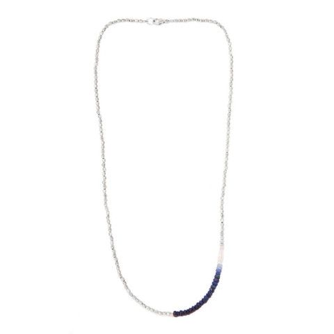 CATHERINE WEITZMAN Sapphire and Silver Necklace – KAVUT