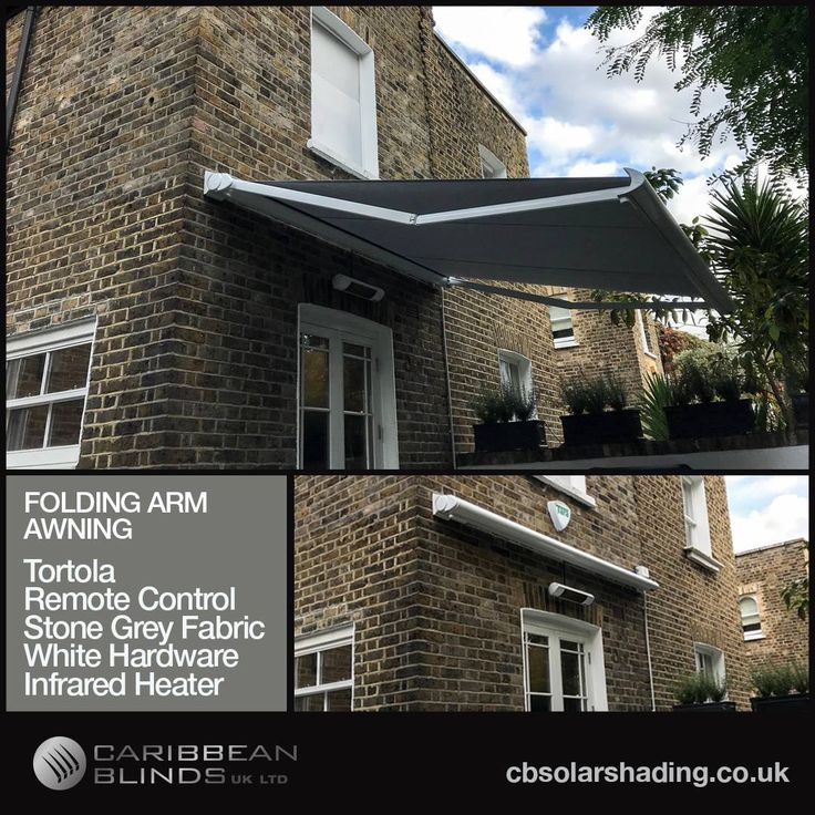 We were over in south London this week to install a 3m classic Tortola awning with a 2.5m projection. We used a white hardware to match with the window and door features of the building. White really does work well with the rustic brick work.  View our vast range of awnings and register your interest for a free product catalog - cbsolarshading.co.uk   #InstallOfTheWeek #Awning