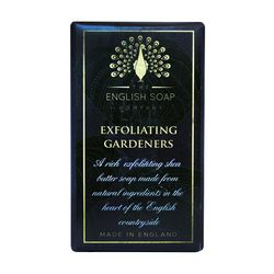 The English Soap Company's Gardeners Bath Soap effectively exfoliates with ground walnut shell for a thorough cleaning after a days gardening.