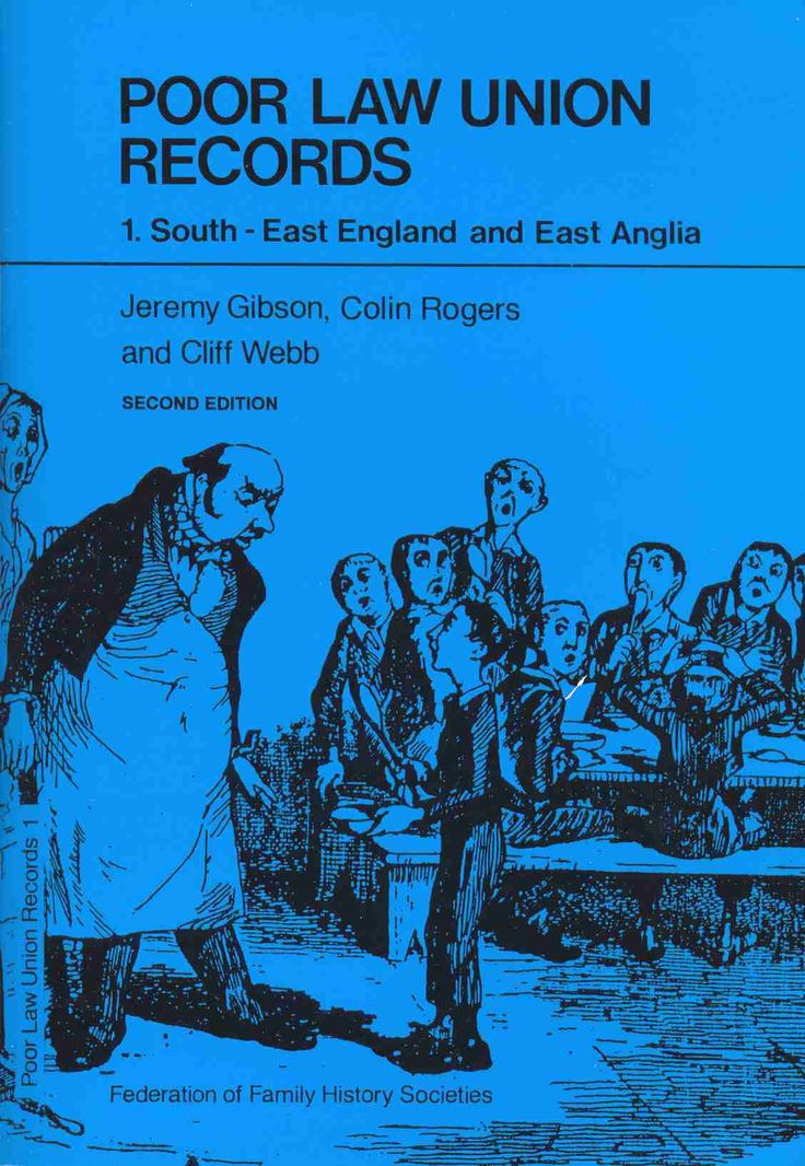 Poor Law Union Records (East Anglia)