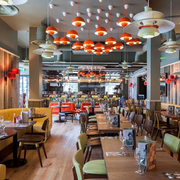 Las Iguanas - George St. Gluten free and veggie options, Christmas menu £25 for three courses.