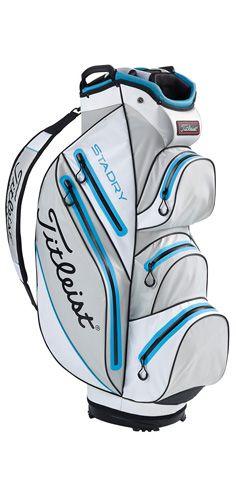 Gros sac de golf Titleist Stadry Cart gris/blanc/bleu ciel