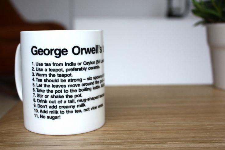 George Orwell Tea Rules Mug
