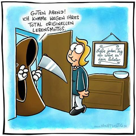Funny cartoon nichtlustig