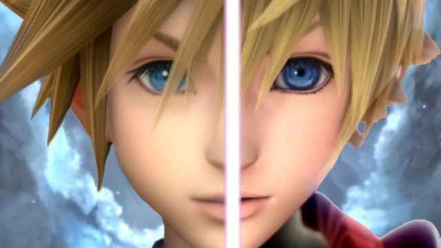 Kingdom Hearts - Sora & Roxas- pretty much rea-carnation.... did I spell it right? XD
