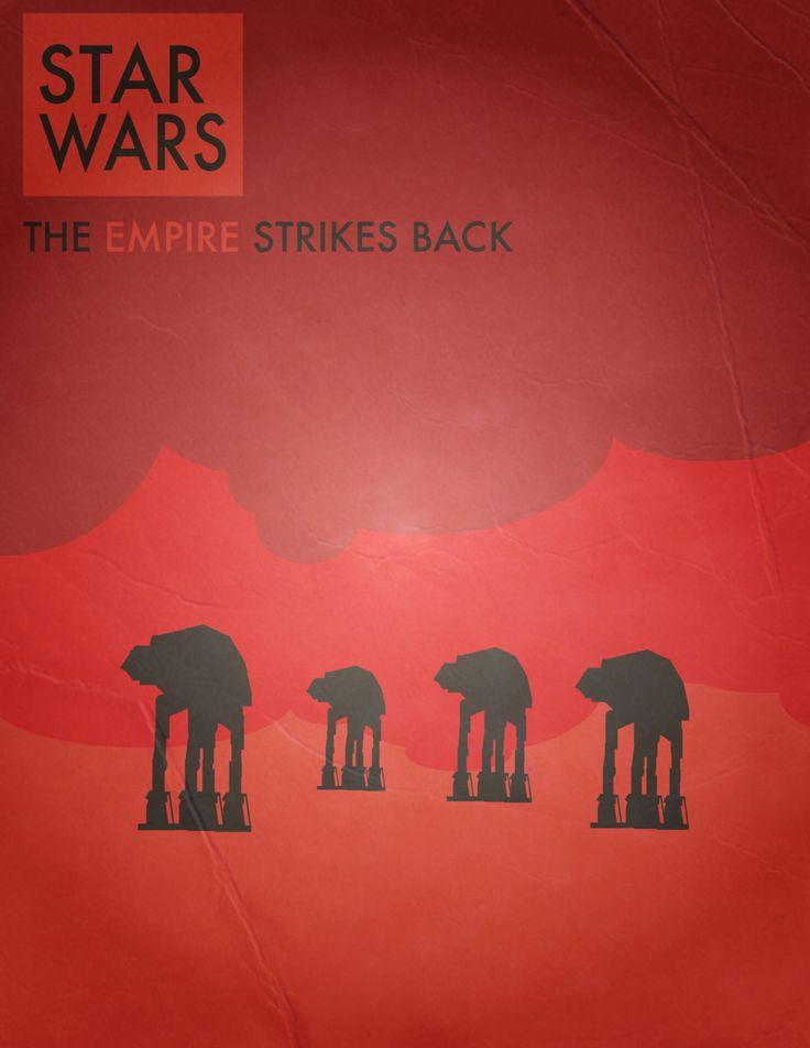 empire #starwars #poster #empire #strikes #back: Movie Posters, Starwars Posters, Geek Wars, The Stars Wars, Cinema Film, Empire Starwars, Empire Posters, Geeky Stuff, Empire Strike