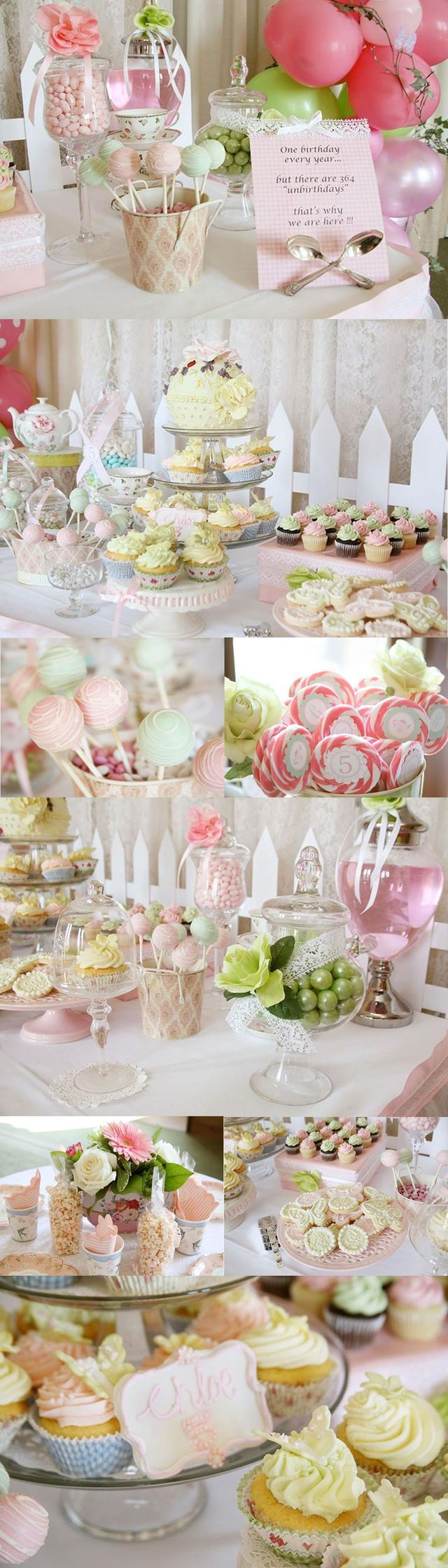 Tea party styled by Enchanted Party