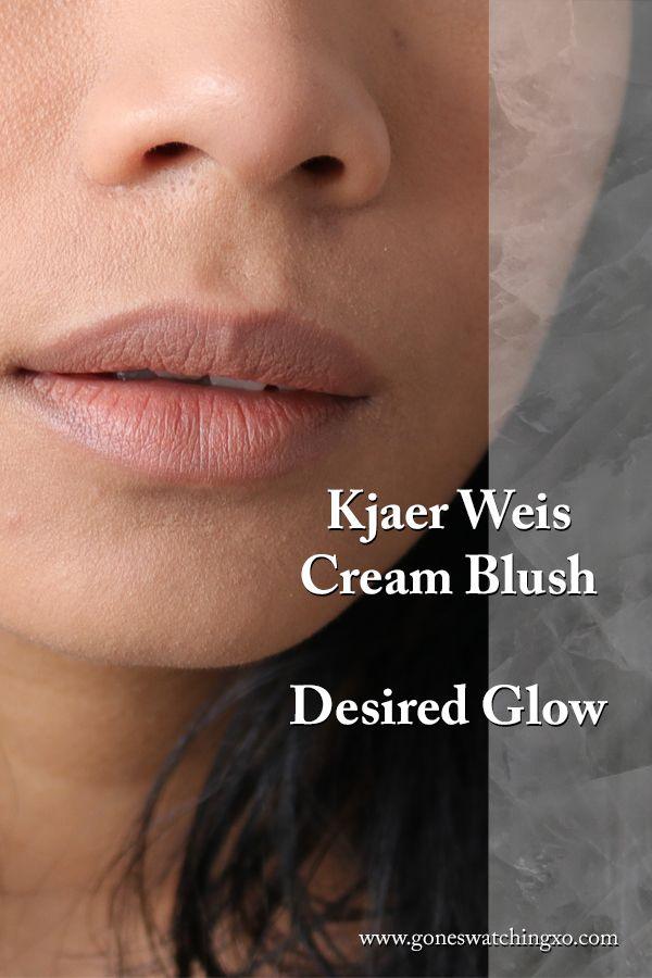 Kjaer Weis Cream Blush Review Swatches Desired Glow Cream Blush Blush Kjaer Weis Blush