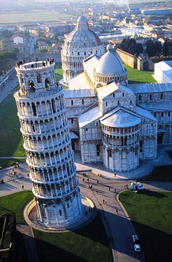 Leaning Tower of Pisa, A Magnificent Engineering Failure