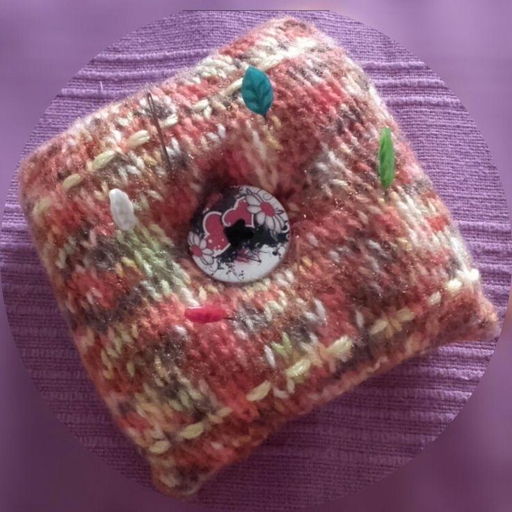 Alfiletero // Pin cushion