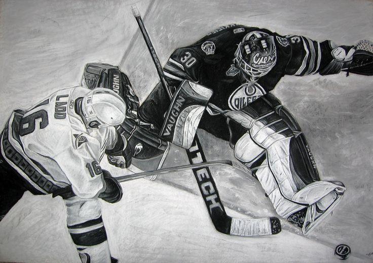Oiler's Commission by LION2587.deviantart.com on @DeviantArt