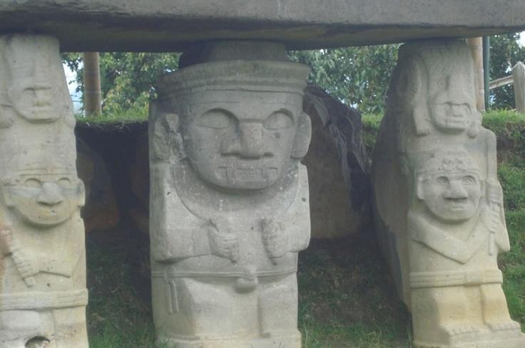 Archaeological park San Agustín, Huila - Colombia