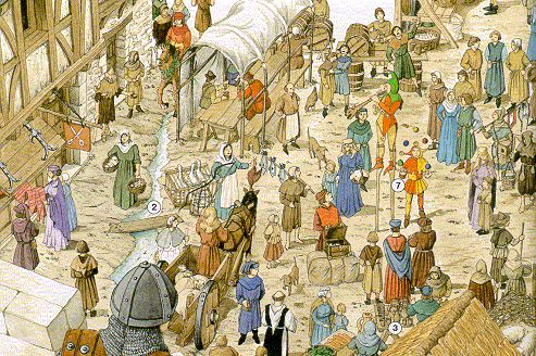 middeleeuwse stad - Google zoeken