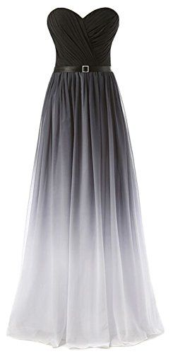Eudolah New Gradient Colorful Sexy Ombre Chiffon Prom Dress Evening Dresses Gray White Size 4 Eudolah http://www.amazon.com/dp/B019O736EQ/ref=cm_sw_r_pi_dp_3hyTwb1RCV27H