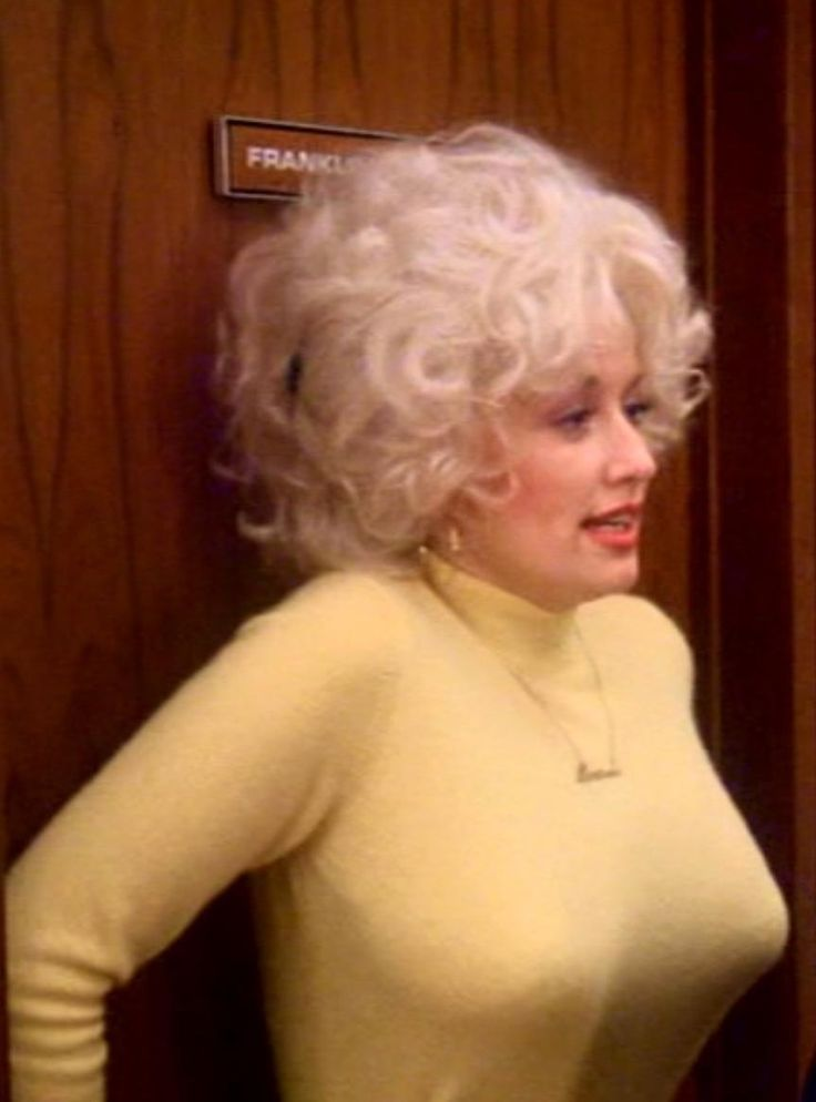 Regret, that Dolly parton breast naked
