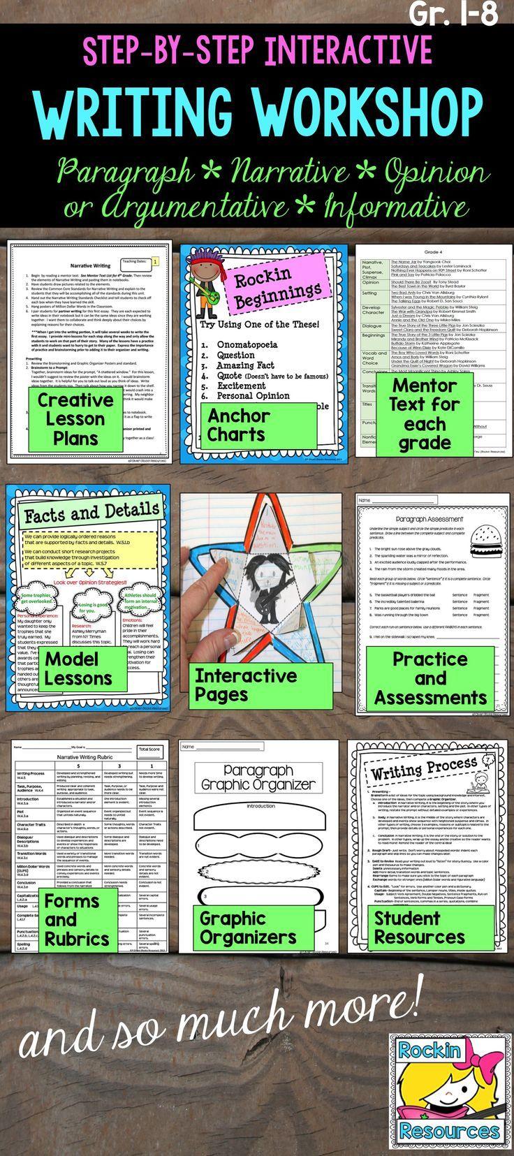creative writing lesson plan ideas